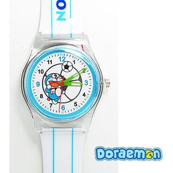 哆啦A夢 帥氣運動多啦兒童錶(足球款)