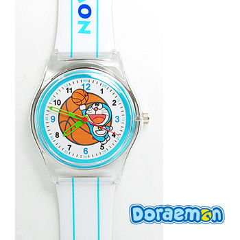 哆啦A夢 帥氣運動多啦兒童錶(籃球款)