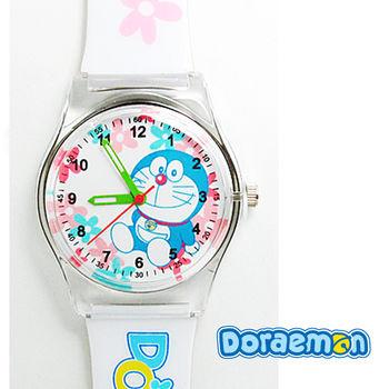 哆啦A夢 粉嫩夢幻花漾兒童錶