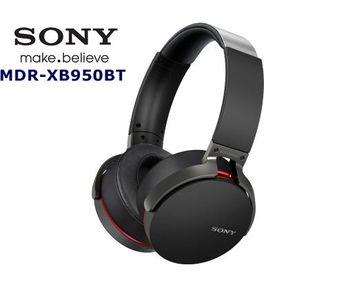 SONY MDR-XB950BT 如臨現場重低音 高音質 無線藍芽 NFC快速連接 耳罩式耳機 尊爵黑