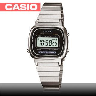 【迎春福袋】CASIO 卡西歐 日系-超人氣復古型電子女錶(LA670WD)