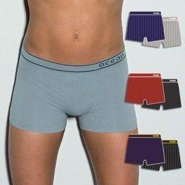 【西班牙 OCEAN】男性褲無縫彈性透氣直條 四角褲 (7168)M件