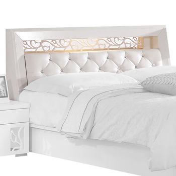 【顛覆設計】達莉菲5尺雙人床頭箱(不含床墊、床底)