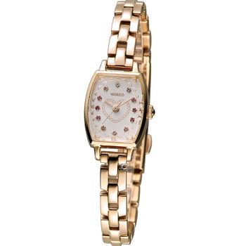 WIRED  優雅甜心淑女腕錶 1N01-X217K AC3V12X1