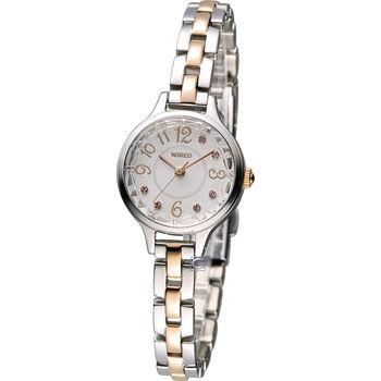 WIRED  優雅甜美淑女腕錶 1N01-X216KS AC3V09X1