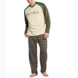 【西班牙MAAX】*(9754)男性時尚休閒居家服長袖套 (L)