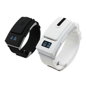 【IS】錶帶式藍牙耳機 來電震動提示 雙電池待命 可同時連接兩個藍牙設備