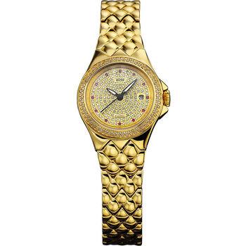 HOGA奢華滿天星機械錶-女錶-28.5mm