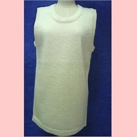 【MIMiGoGo 】(2501-2)瑪麗諾 男女童羊毛內衣寬版背心素圓領羊毛內衣(尺寸2)