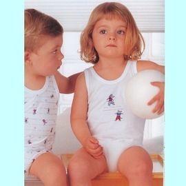 【西班牙 Abanderado】(a933)嬰兒連身衣背心 (12)