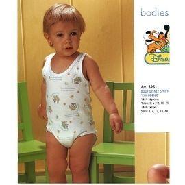 【西班牙 Abanderado】(3955)嬰兒連身衣背心-米老鼠(尺寸12)