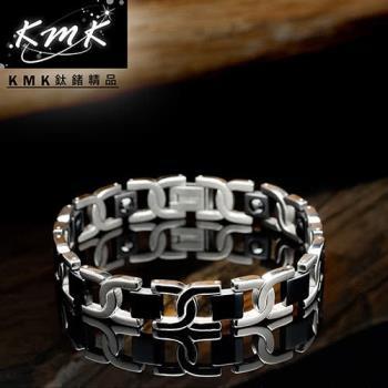 KMK鈦鍺精品【品味】純鈦+磁鍺健康手鍊