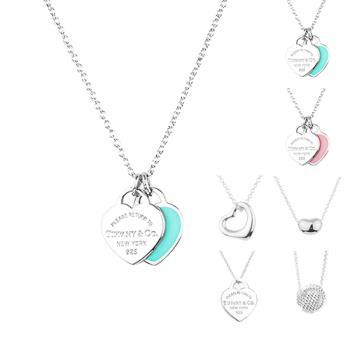 TiffanyCo. 經典可愛mini純銀項鍊(6款選擇)