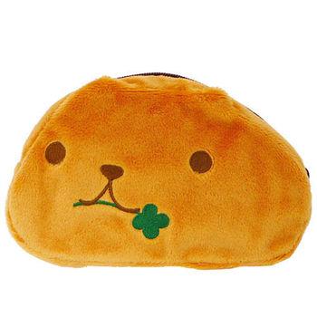 kapibarasa 水豚君系列毛絨化妝包 水豚君+暴走君