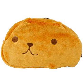 kapibarasa 水豚君系列毛絨化妝包 水豚君+懷特小姐