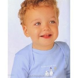 【西班牙 Abanderado】(a935) 嬰兒連身衣中棉長袖雪人 (24)