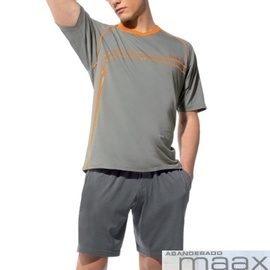 【西班牙MAAX】(1179)男性時尚長纖休閒居家服/睡衣灰套