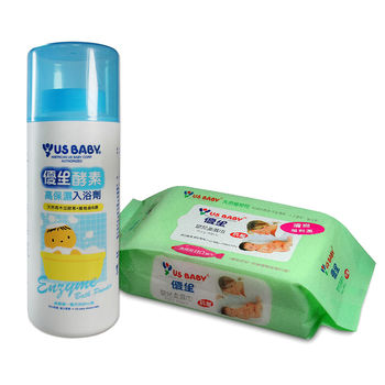 【優生】酵素入浴劑1000g+贈濕巾80抽