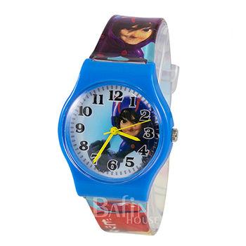 【Disney迪士尼】BIG HERO 6 大英雄天團 阿廣 兒童錶(藍)