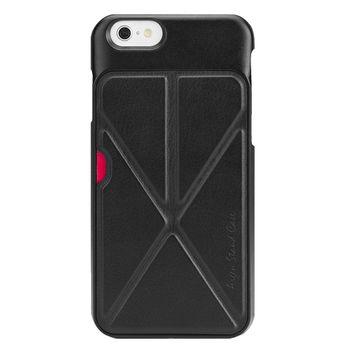 ECOLA Argen IPhone6 plus 多功能防摔支架手機保護殼(黑)