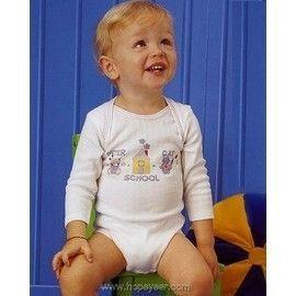 【西班牙 Abanderado】(0998)嬰兒連身/包屁衣羅紋薄長袖 (6)