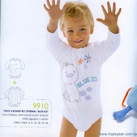 【西班牙 Abanderado】(a910)嬰兒連身衣磨毛長袖雪人(尺寸12)