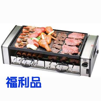 【福利品】新格 不銹鋼多功能旋轉鐵板燒 SBG-8850