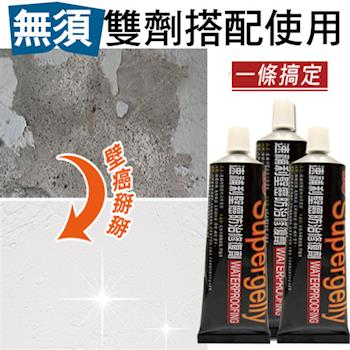 【速補利】壁癌修繕防水防霉抗裂纖維塗料除濕抗潮6件組