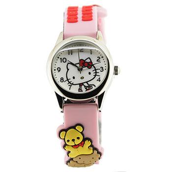 【迎春福袋】青春無敵經典Hello Kitty馬卡龍腕錶 HKFR927-16C