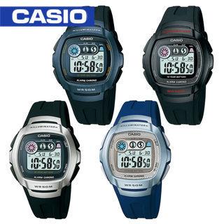 【CASIO 卡西歐】日系-學生指定型電子錶(W-210)