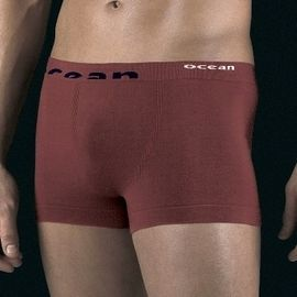 【西班牙 OCEAN】男性褲無縫彈性透氣直條 四角褲 (7980)M