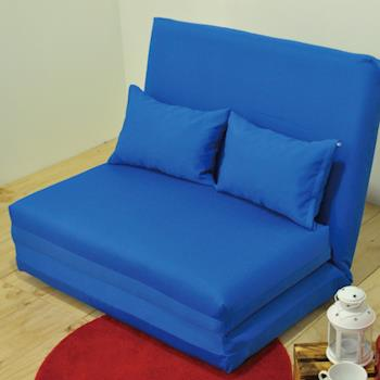 【IDeng】居家生活單人沙發床椅(可拆洗)