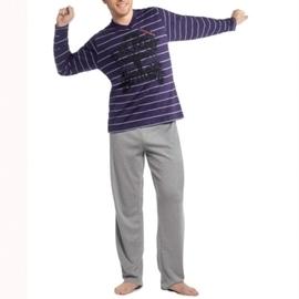 最後一套【西班牙MAAX】*(9750)男性時尚休閒居家服長袖套 (L)