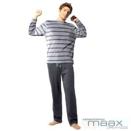 【西班牙MAAX】(9657)男性時尚休閒居家服睡衣絨布套 (L)