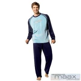 【西班牙 MAAX】(9658)男性時尚休閒居家服睡衣絨布套 (L)