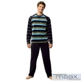 【西班牙MAAX】(9660)男性時尚休閒居家服睡衣絨布套 (L)