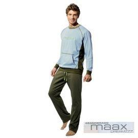 【西班牙MAAX】(9654)男性時尚休閒居家服睡衣套 ( L)