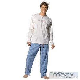 【西班牙MAAX】(9662)男性時尚休閒居家服薄長袖套(L)