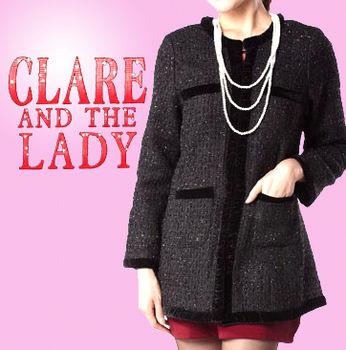 CLARE15周年限定精典名品小香風外套