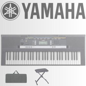 【YAMAHA 山葉】61鍵入門學習機種含琴椅、琴袋-公司貨保固 (PSR-E243)