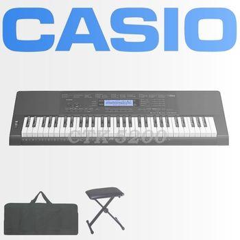 【CASIO 卡西歐】61鍵進階款電子琴含琴袋、琴椅-公司貨保固( CTK-5200)