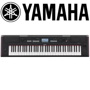 【YAMAHA 山葉】76鍵可攜式電子琴-公司貨保固 (NP-V80)