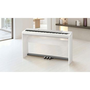【CASIO 卡西歐】標準88鍵極緻簡約數位鋼琴 (PX-150WH)
