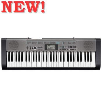 【CASIO 卡西歐】標準型61鍵電子琴入門首選 公司貨保固含琴架、琴袋 ( CTK-1300)