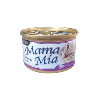 【SEEDS】聖萊西 MAMAMIA貓餐罐-雞肉+鮪魚+蝦肉 85G x 24入