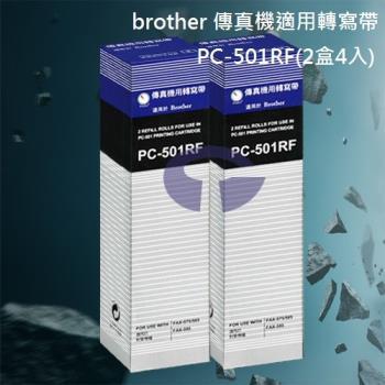 【brother】PC-501RF 傳真機專用轉寫帶 (2盒4入)