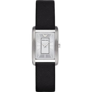Emporio Armani Classic 現代品味經典腕錶-銀 AR1871