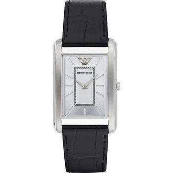 Emporio Armani Classic 現代品味經典腕錶-銀 AR1869
