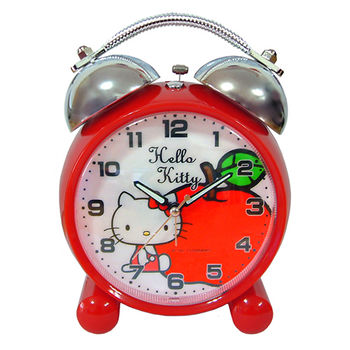Hello Kitty 蘋果打鈴鬧鐘 (JM-E470-KT-A)
