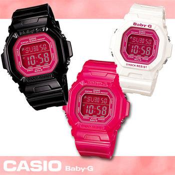 【CASIO 卡西歐 Baby-G 系列】S.H.E熱情代言女錶(BG-5601)